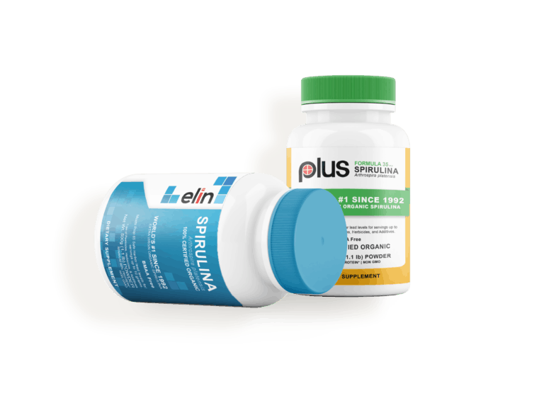 elin and plus supplement bottle designs