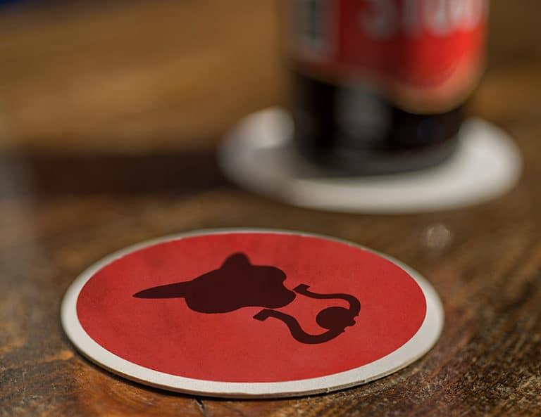 Fox Tavern Coaster