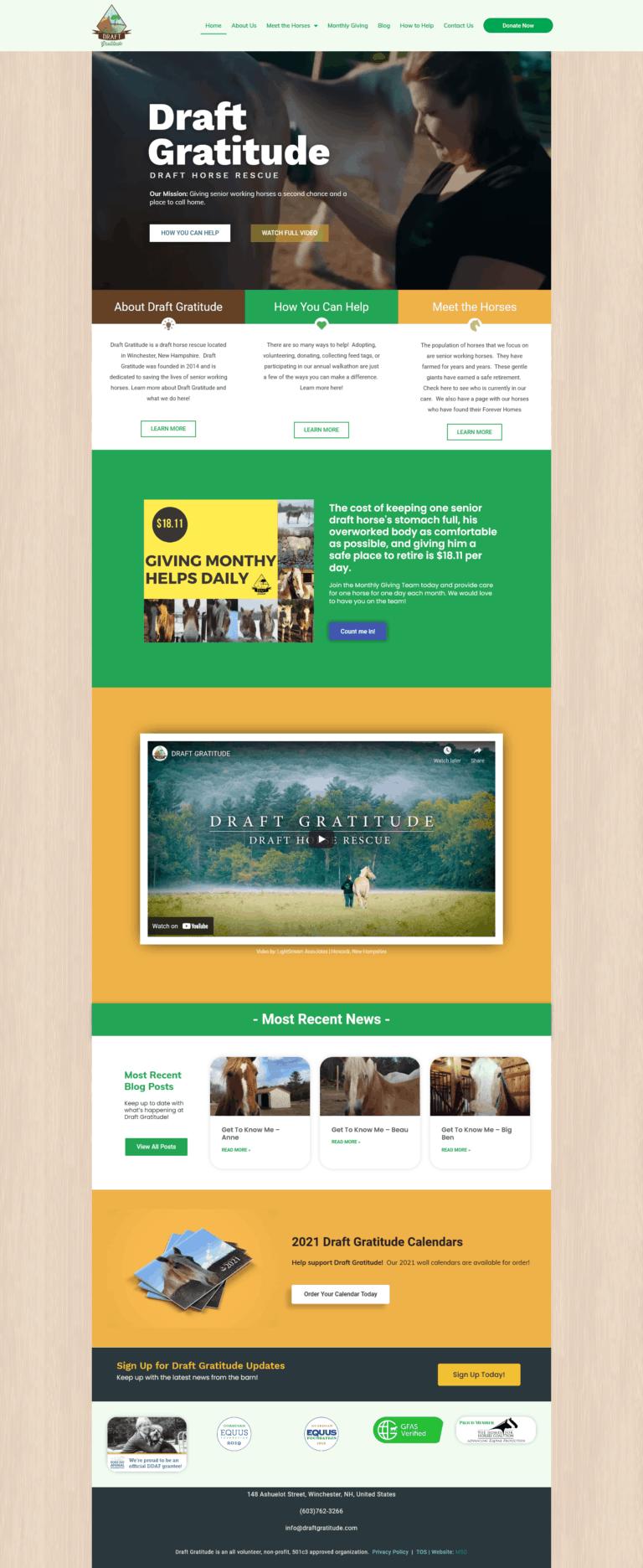 draft gratitude home page