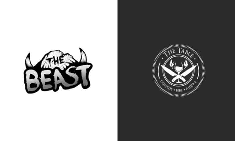 the beast and the table logos