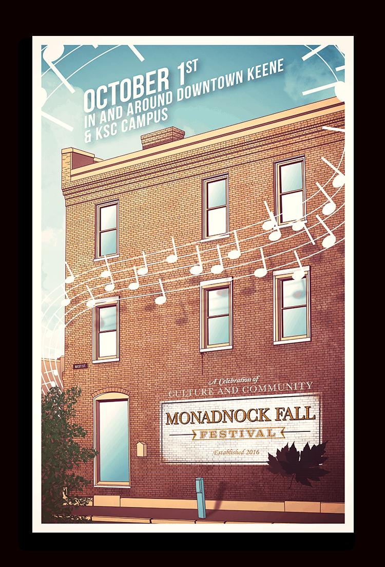 monadnock Fall Fest Poster
