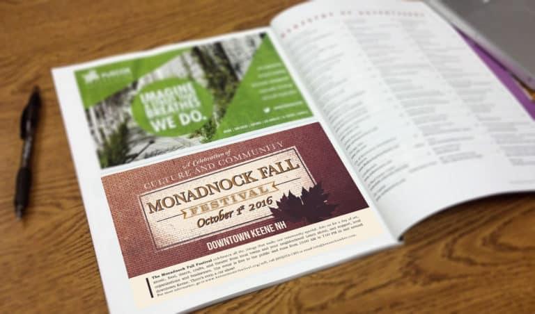 Monadnock Fall Fest Ad Mockup