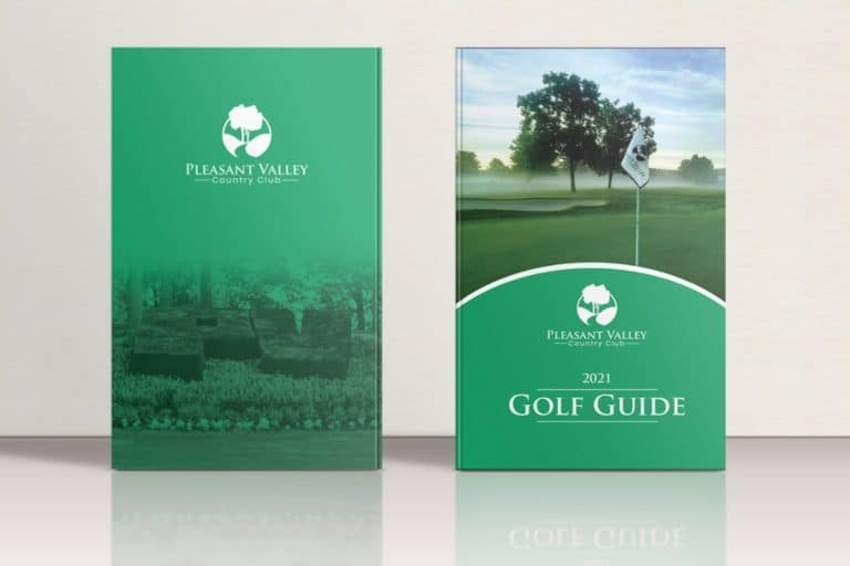 Pleasant Valley Golf Guide Mockup