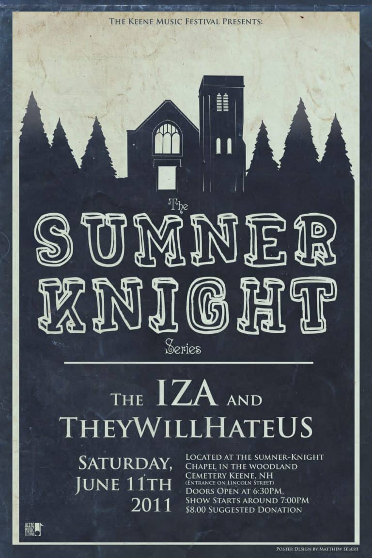 2011 Sumner Knight Show Poster