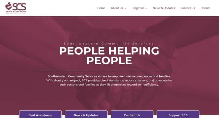 southwestern community services hero secton